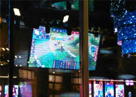 Huge Outdoor Full Color LED Display Hire , Aluminum P4.81mm LED Video Wall Screen