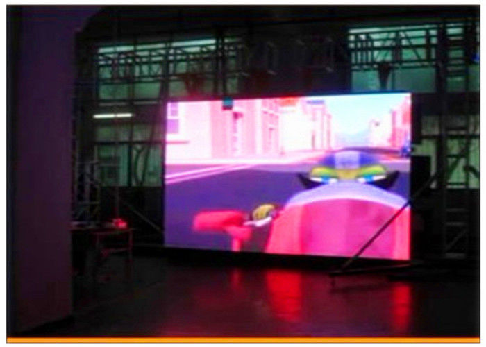 Energy Saving Indoor LED Video Wall Panels SMD1010 Full Color With Thin Cabinet